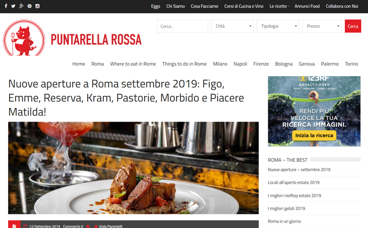 Nuove aperture a Roma settembre 2019: Emme Restaurant