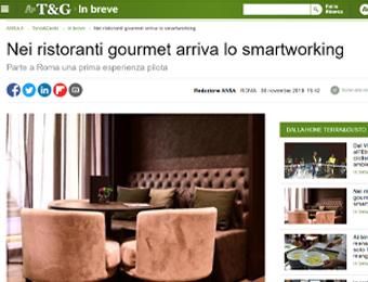 Nei ristoranti gourmet arriva lo smartworking