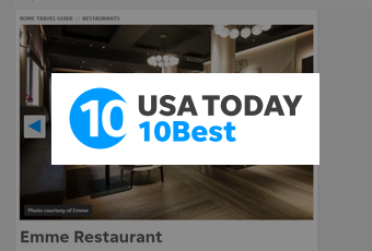 Emme Restaurant – 10BEST SAYS